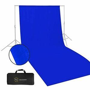 10x20 Blue Muslin Backdrop Photo Studio Photograph